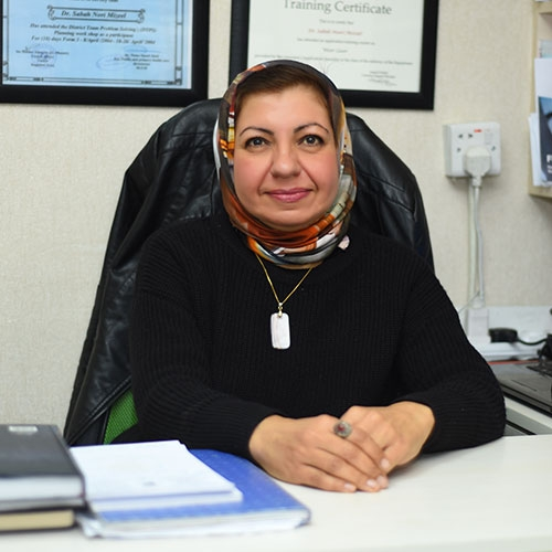 الدكتورة صباح نوري مزعل